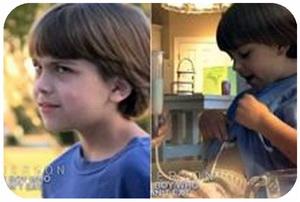 کودکی که نمی تواند غذا بخورد ، کودکی که قادر به غذا خوردن نیست ، مرض نادر يحرم طفلا أمريكيا من تناول الطعام