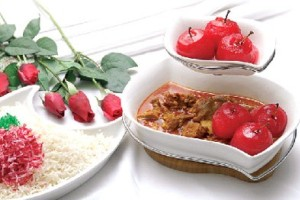 آشپزی خورشت سیب غذای ایرانی سایت رسمی مجید اخشابی www.majidakhashabi.com