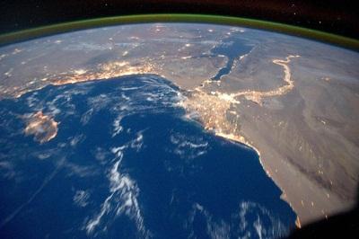 ایرگِلو ناسا بر فراز زمین