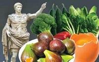 رژیم غذایی متنوع رومیان باستان