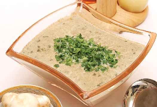 سوپ قارچ كبابــي