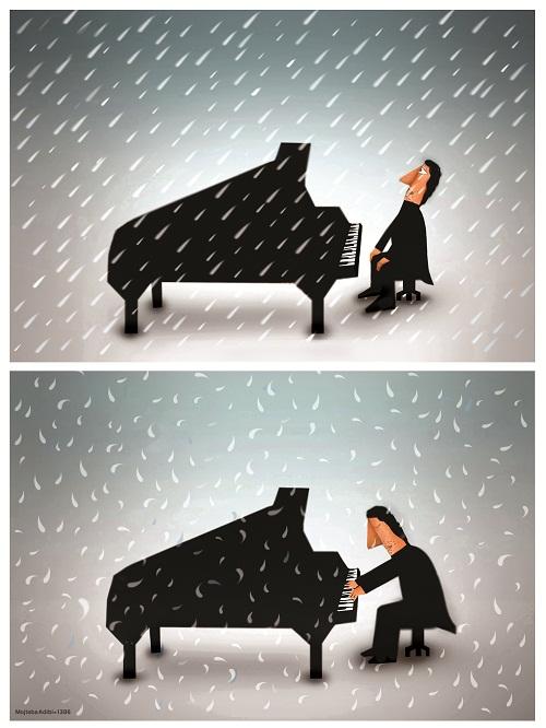 کاریکاتور موسیقی